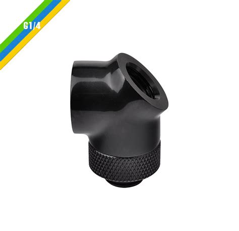 Thermaltake Pacific G1 4 45 Degree Adapter thermaltake germany pacific g1 4 45 90 degree