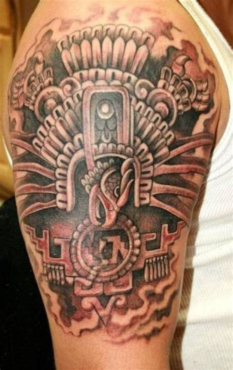 aztec sleeve tattoo aztec tattoos designs ideas and meaning tattoos for you