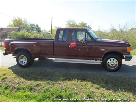 1990 ford f350 mpg 1990 ford f 350 duty xlt lariat extended cab