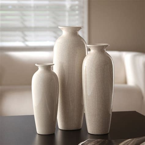 ceramic home decoration ceramic vases table home decor contemporary furniture set
