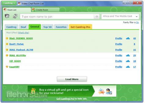 camfrog video chat 6 7 356 free download software lovers