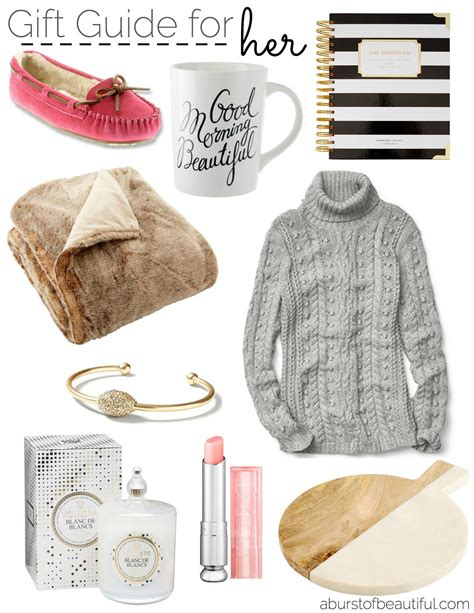 beautiful gifts for her holiday gift guide for her a burst of beautiful