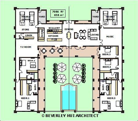 H Shaped Ranch House Plans H Shaped Ranch House Plans Fresh H Shaped House Plans With Pool In The Middle Pg3 New Home