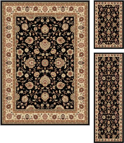 Tayse Rugs Elegance Raleigh Traditional Area Rug 3 Pc Set Area Rugs Raleigh Nc