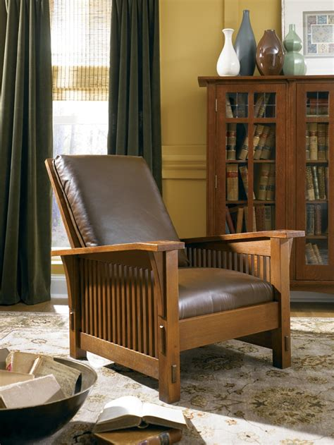 stickley morris recliner living in leather pinterest mom spindle morris chair by stickley stickley mission