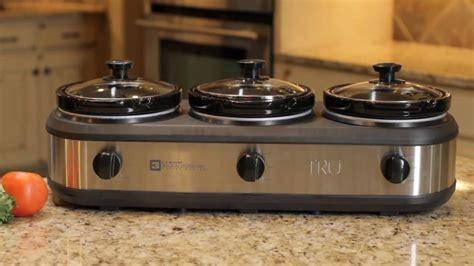 ge 3 crock cooker buffet maxresdefault jpg