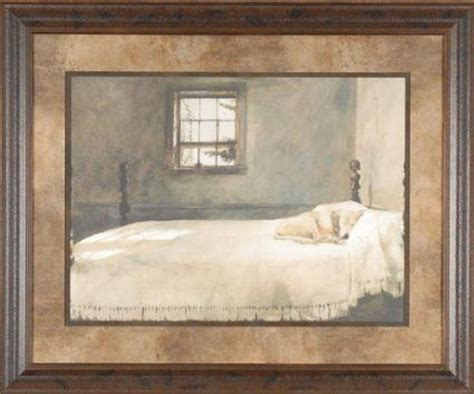 andrew wyeth master bedroom master bedroom andrew wyeth 25x21 gallery quality framed print sleeping bed