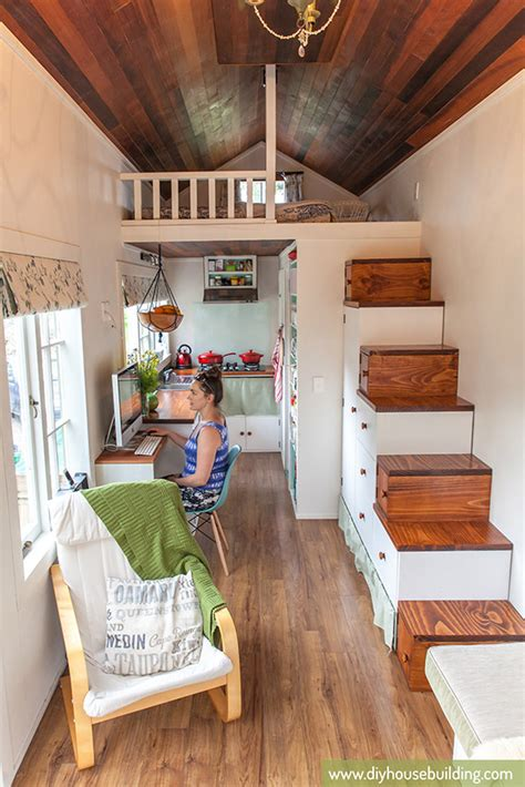 tiny home interiors tiny house pictures life in our tiny trailer house one