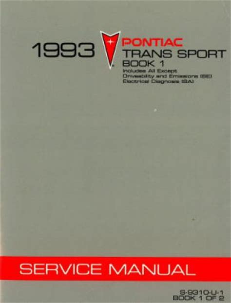 free service manuals online 1994 pontiac trans sport on board diagnostic system service manual 1993 pontiac trans sport free repair manual 1993 pontiac trans sport owners