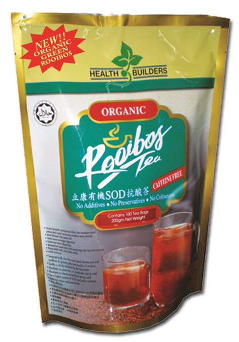 Teh Rooibos welcome to health builders m sdn