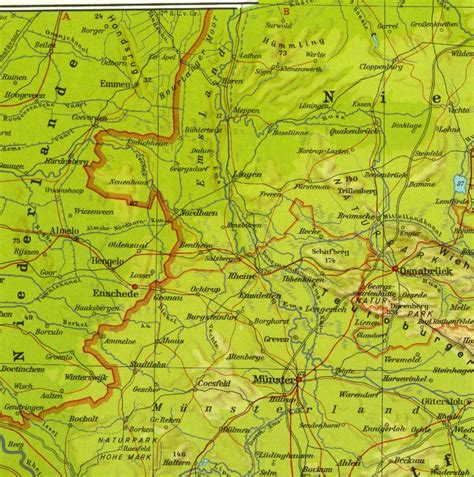 map northern germany map of northern germany pictures to pin on