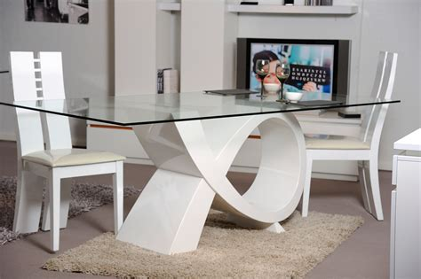 table salle a manger ronde en verre table en verre design salle a manger table ronde design
