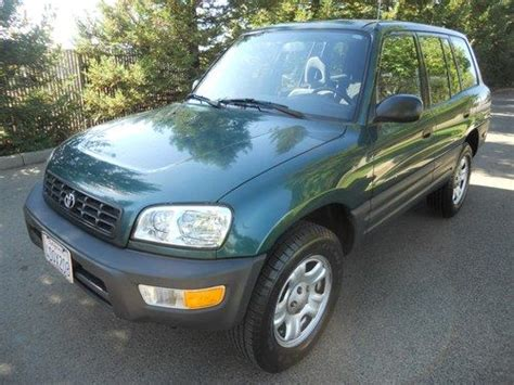 airbag deployment 1999 toyota rav4 auto manual find used 1999 toyota rav4 base sport utility 2 door 2 0l clean title in rancho cordova