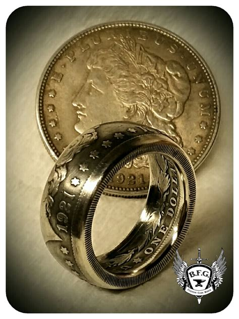 coin ring jewelry u s silver dollar