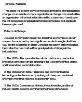 Simple Essay For by Basic Principles Of Organizational Change Essay Exle At Essaypedia