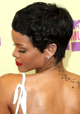 rihanna images of front and back short hair styles rihanna s short haircuts best styles over the years