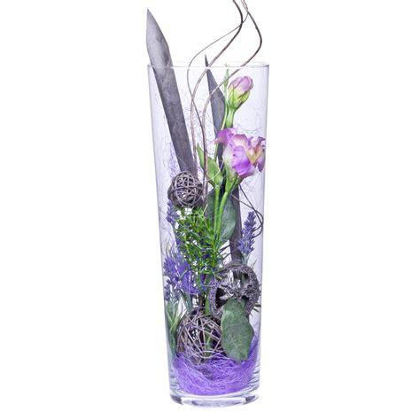 Deko In Vase by Deko Vase Lisianthus Lila 40cm Versandkostenfrei