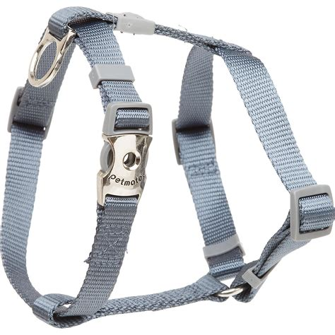 puppy harness petco aspen pet by petmate deluxe signature pewter single ply harness petco
