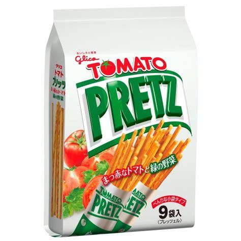 Glico Tomato Pretz glico 9 packs pretz tomato 134g kaimay confectionery