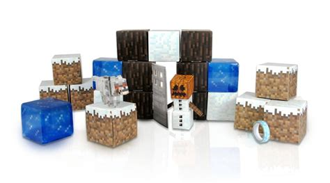 Papercraft Sets - minecraft papercraft snow set the granville island