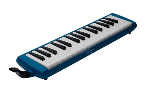 Pianika Qi Mei 32 Key Melodica musical instrument melodica isolated on white background stock photo image of equipment child