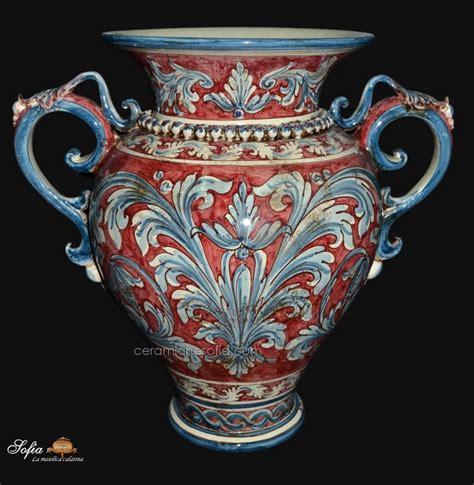 vasi di caltagirone 14 obx241 vasi in ceramica di caltagirone ceramiche