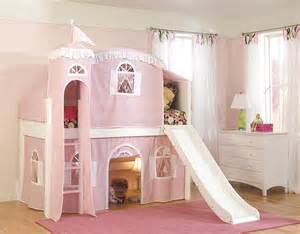Girls Slide Bed by Bunk Bed With Slides