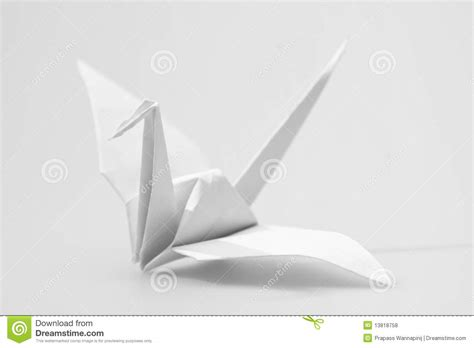 Origami Craft Paper - japanese paper craft origami birds stock photo image