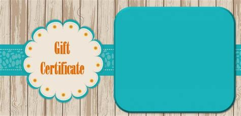 gift certificate templates for mac free gift certificate template for mac template