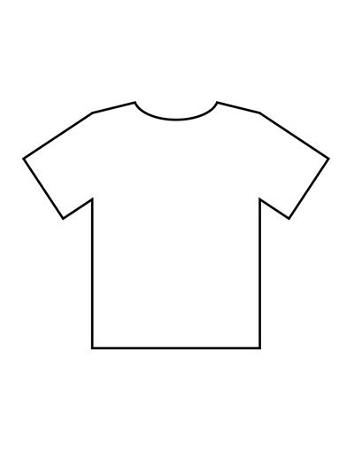 simple t shirt template tim de vall comics printables for