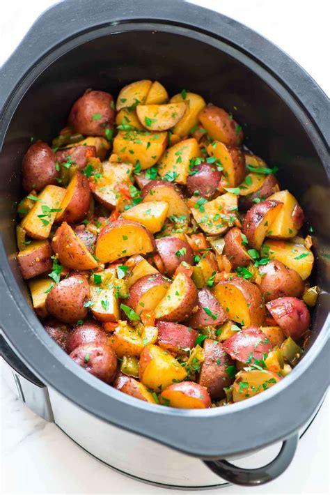 potato pot crockpot breakfast potatoes