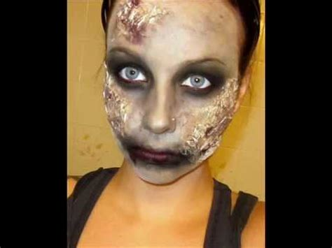 zombie makeup tutorial videos halloween series 2011 zombie makeup tutorial youtube