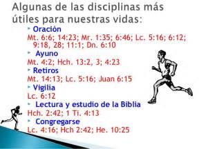 disciplinas espirituales para la las disciplinas espirituales