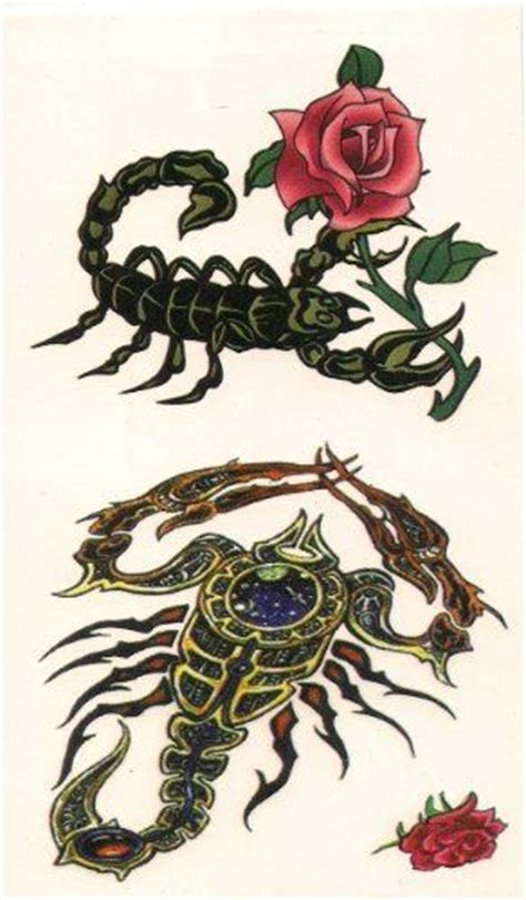 what can i add to my rose tattoo 33 best scorpio designs to add some spice to your
