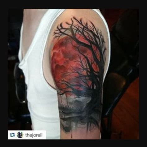 blood moon moon tattoos and blood on pinterest