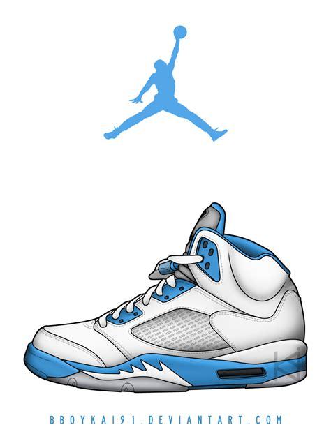 Drawing Jordans by Air 5 Pe Motorsports By Bboykai91 On Deviantart