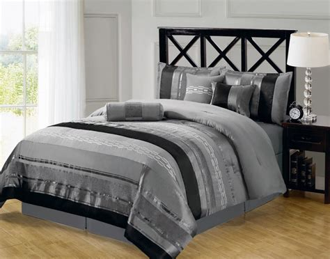 stylish headboard stylish striped grey bed linen and nice wooden headboard