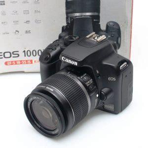Kamera Canon Eos 1000d Bekas jual kamera canon eos 1000d sc 8rb an fullset jual beli laptop bekas kamera bekas di malang
