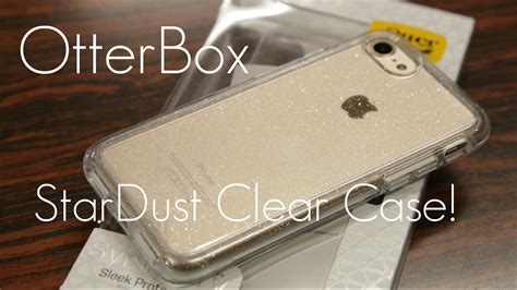 clear sparkles otterbox symmetry clear case stardust