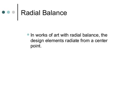design elements radiate from a center point organizing principles of design art 100