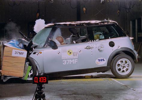 crash test mini mini cooper jul 2002 jun 2006 crash test results ancap