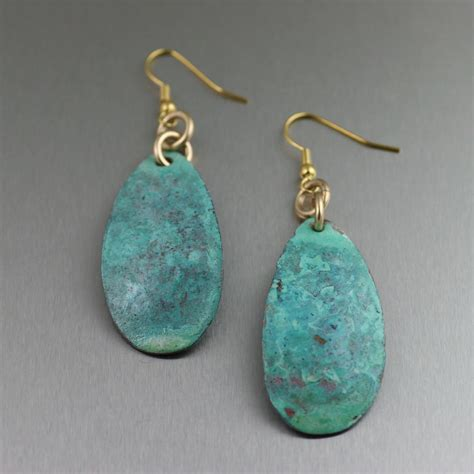 Handcrafted Earrings - unique handcrafted copper jewelry designs
