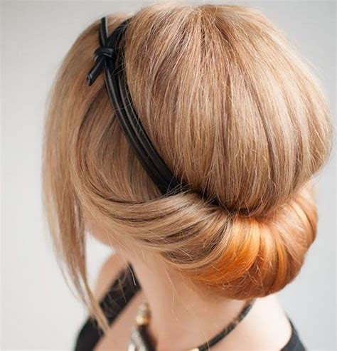 18 pretty updos for hair clever tricks with a handful of hairgrips popular haircuts