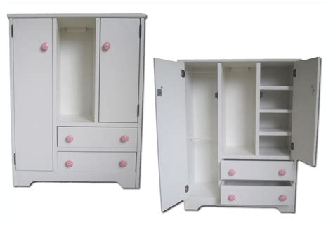 girl armoire doll wardrobe american made fits 18 quot doll furniture