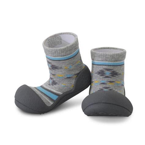 baby sock shoes attipas baby pre walker sock shoes ballet nordic grey m