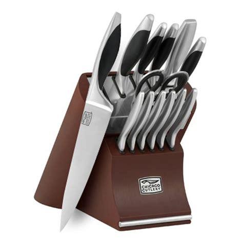 chicago cutlery knife set chicago cutlery landmark knife block set 14
