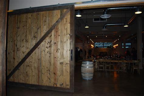 Restaurant Bar Room Dividers Rustic Cedar Sliding Barn Barn Door Restaurant Menu