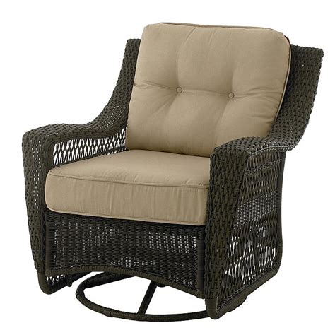 Patio Furniture With Swivel Chairs Country Living 65 50974 44 Concord Swivel Glider Patio Chair Sears Outlet