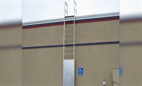 lockable roof ladders fixed ladders