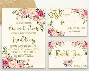 printable wedding stationery uk wedding invitations etsy uk